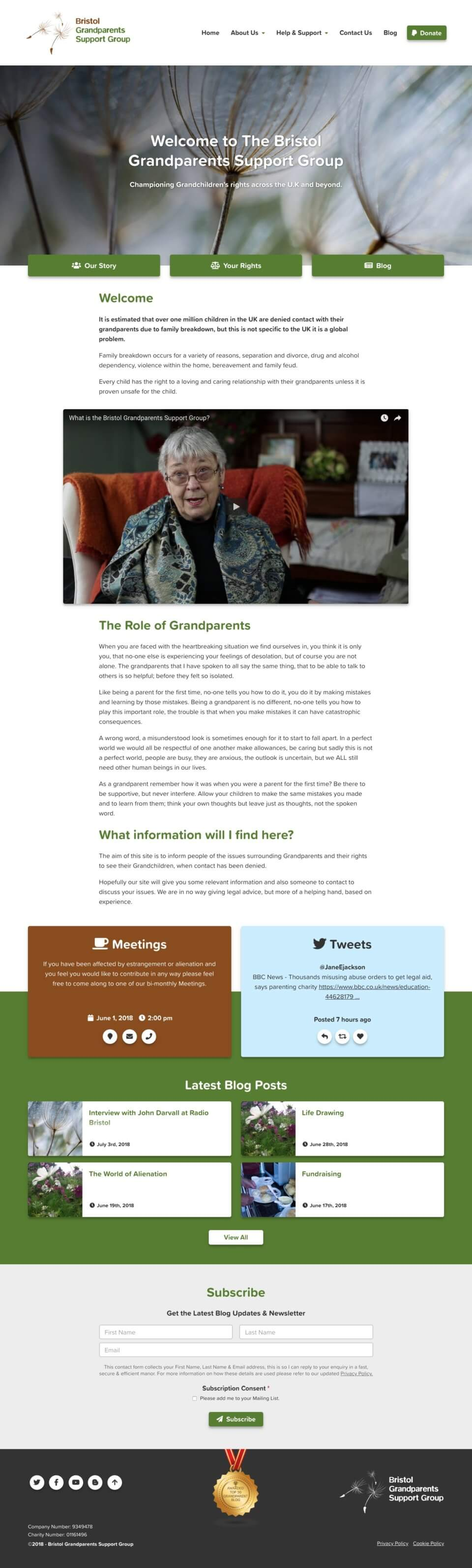 Bristol Grandparents Support Group - Home Page