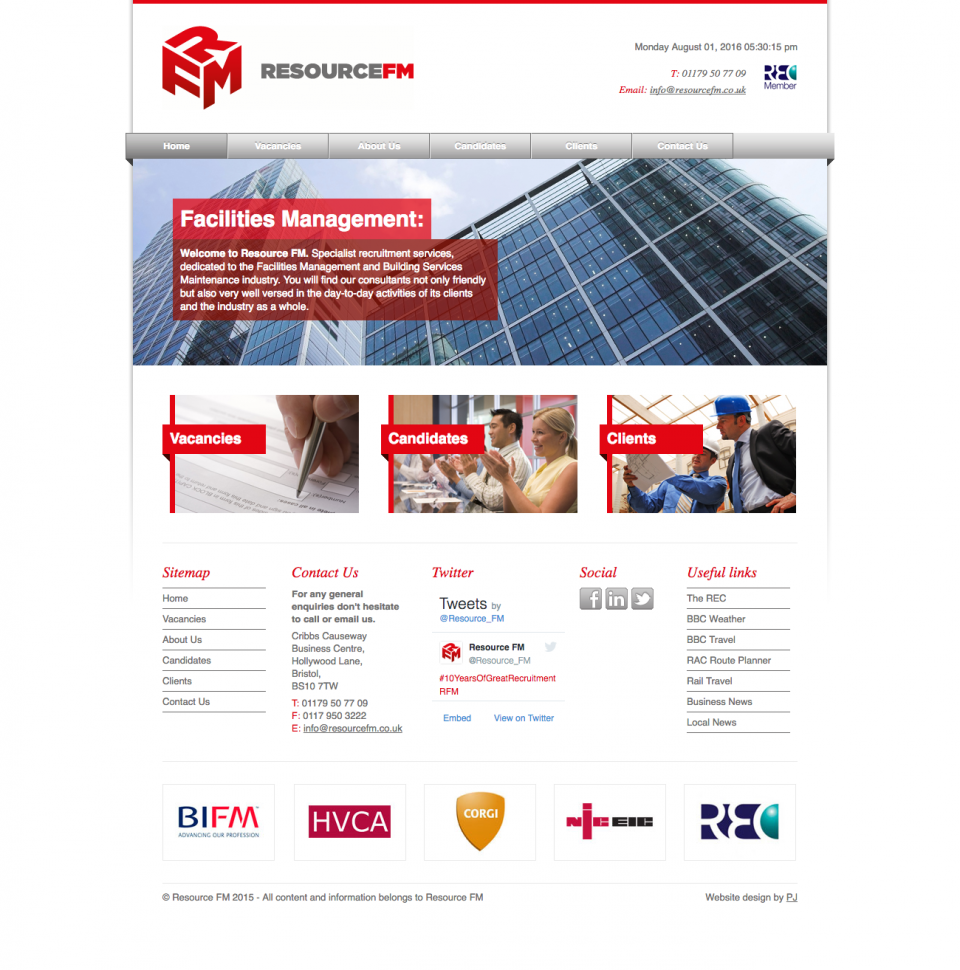 Resource FM - Home Page