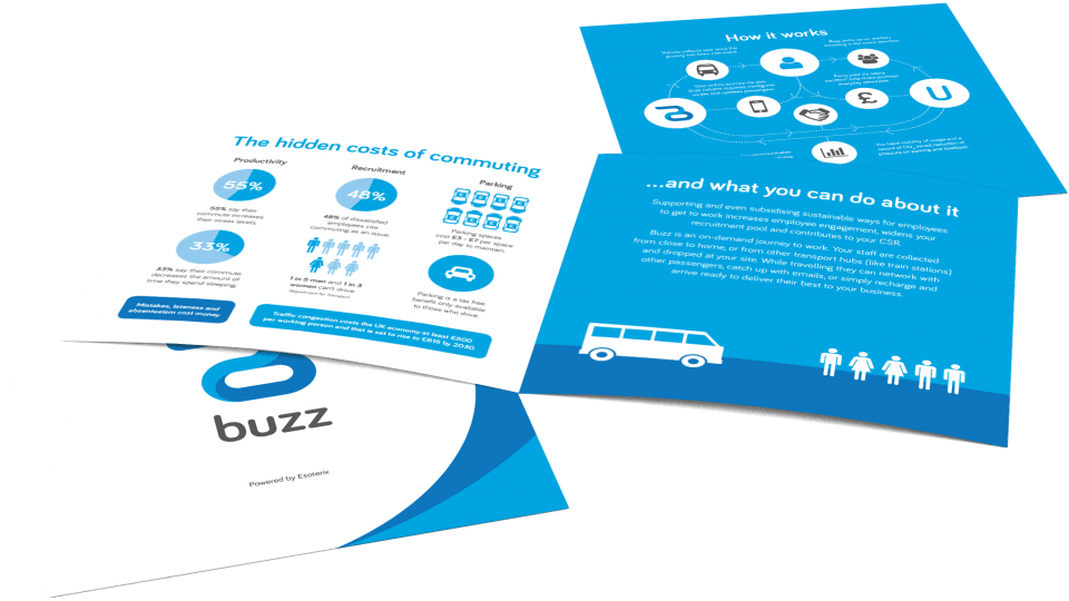 Buzz Leaflet Image - Stationery