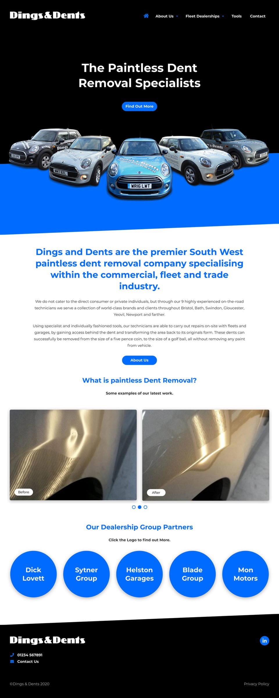 Dings & Dents - Home Page
